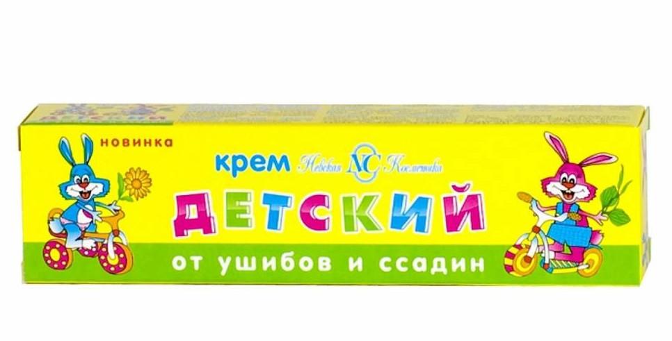 Крем детский от ушибов и ссадин Невская  Косметика 40гр.