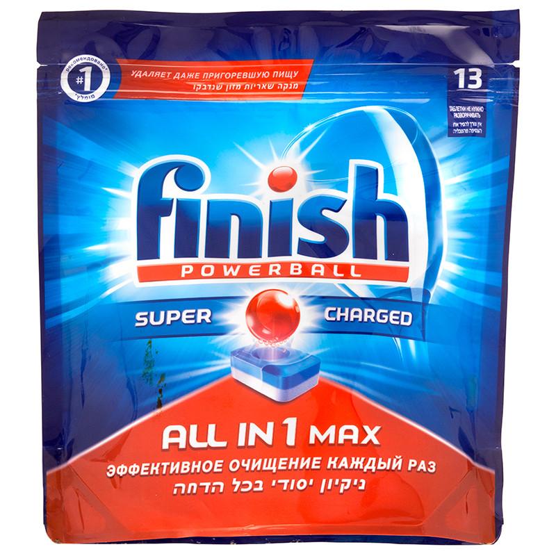 FINISH ALL IN 1 Таблетки 13 шт для посуд. машин  (мягкая упаковка)