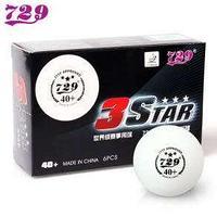 Мячи пластиковые 729 P.S. 40+ 3 Star ITTF approved