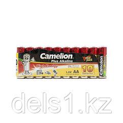 Батарейка, CAMELION, LR6-SP10-DA, Plus Alkaline, AA, 1.5V, 2700 mAh, 10 шт., в плёнке