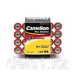 Батарейка, CAMELION, LR6-PB24, Plus Alkaline, AA, 1.5V, 2700 mAh, 24 шт., Пластиковый кейс
