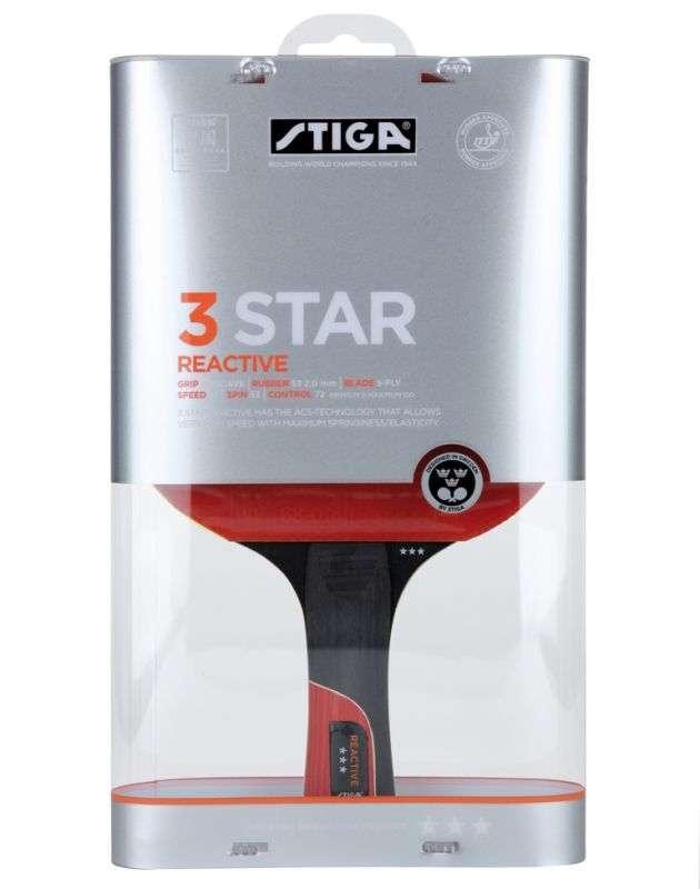 Ракетка Stiga Reactive***