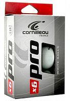 Мячи Cornilleau Pro 6 шт. 40 мм. (белый)