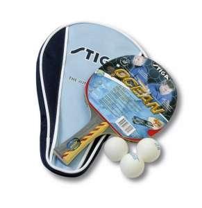 Набор Stiga Ocean WRB, ракетка + 3 мяча + чехол *