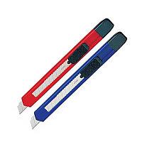 Нож канцелярский 9мм  Deli ассорти # 2051