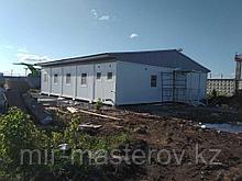 Модульное офисное помещение общей площадью 142,27 м²..