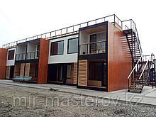 Модульное офисное помещение общей площадью 142,27 м². .