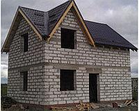 Строительство домов под черновую.
