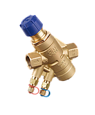 Автоматические балансировочные клапаны Cim 717, 776 с измерительными ниппелями