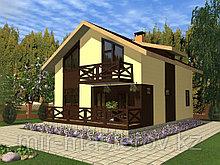 Строительство домов под чистовую 176 кв.м
