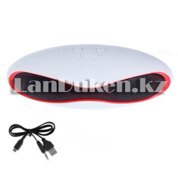 Bluetooth mp3 колонка mini x6u Белый - фото 1