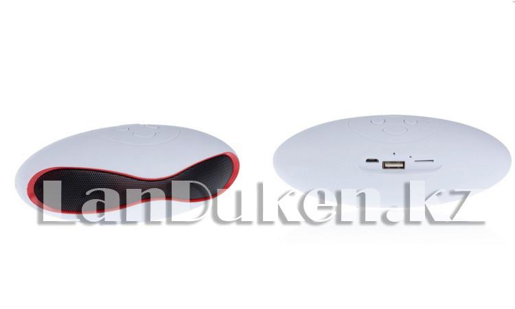 Bluetooth mp3 колонка mini x6u Белый - фото 2