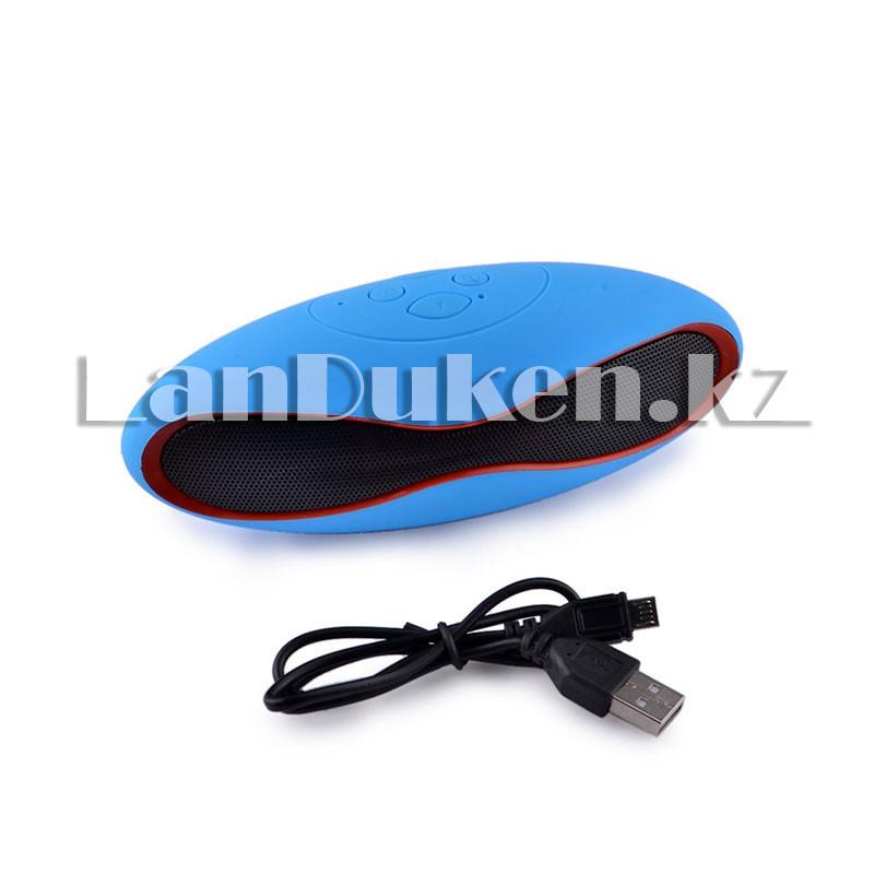 Bluetooth mp3 колонка mini x6u Синий - фото 1