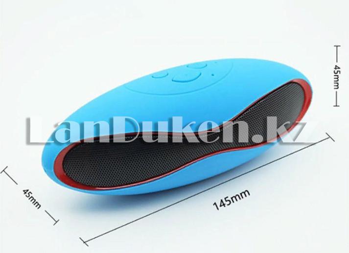Bluetooth mp3 колонка mini x6u Синий - фото 3