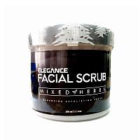 "Скраб для лица ""Смесь трав"" Питающий 500 мл Elegance Facial Scrub Mixed Herbs Intensive Nutrition"
