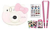 Фотоаппарат моментальной печати Fujifilm Instax Mini Hello Kitty + 10шт картриджей в подарок, фото 1