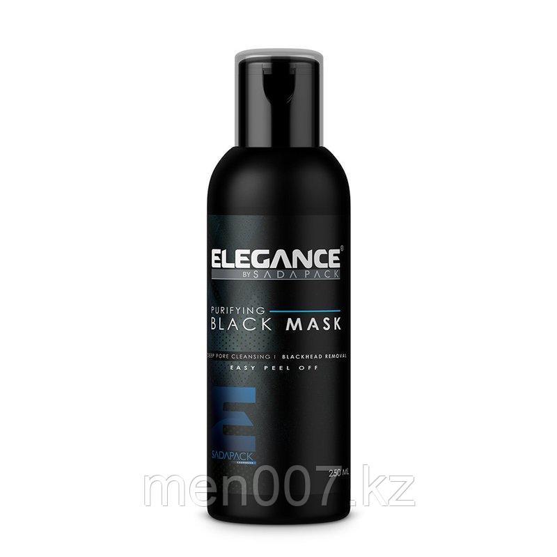 Черная очищающая маска для лица Elegance Black Peel-Off Facial Mask 250ml