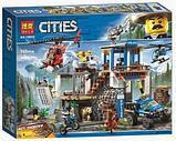 Конструктор Bela City 10865 ¨Полицейский участок в горах¨ 705 дет аналог LEGO City 60174, фото 2