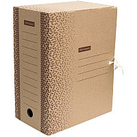 "Папка архивная с завязками OfficeSpace ""Standard"" плотная, микрогофрокартон,  150мм,  бурый, 1400л."