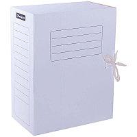 Папка архивная с завязками OfficeSpace, микрогофрокартон, 150мм, белый, до 1400л.