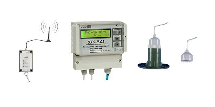Расходомер с интегратором акустический  ЭХО-Р-02