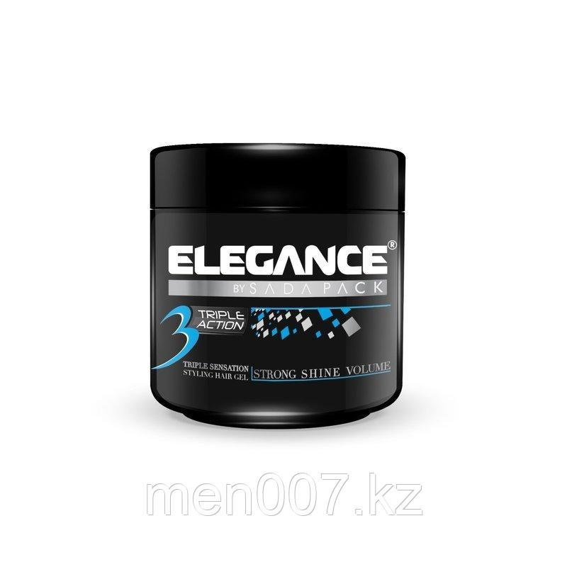 Гель тройного действия Elegance Triple Action Gel Blue 250 мл.