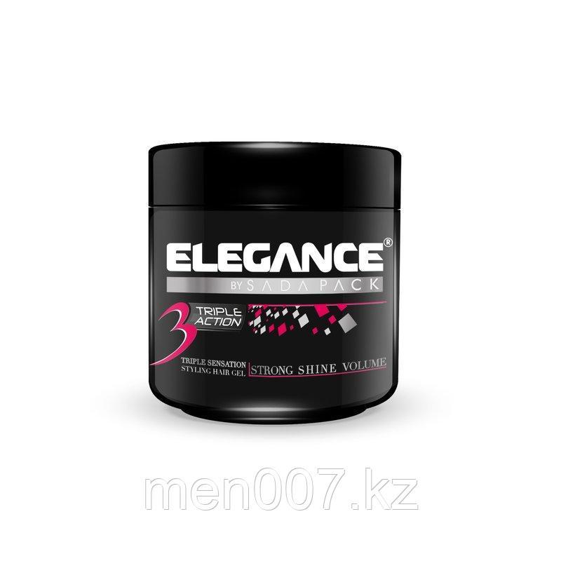 Гель тройного действия Elegance Triple Action Gel Pink 250 мл.