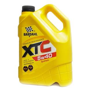 Моторное масло Bardahl XTC 5W40 5L