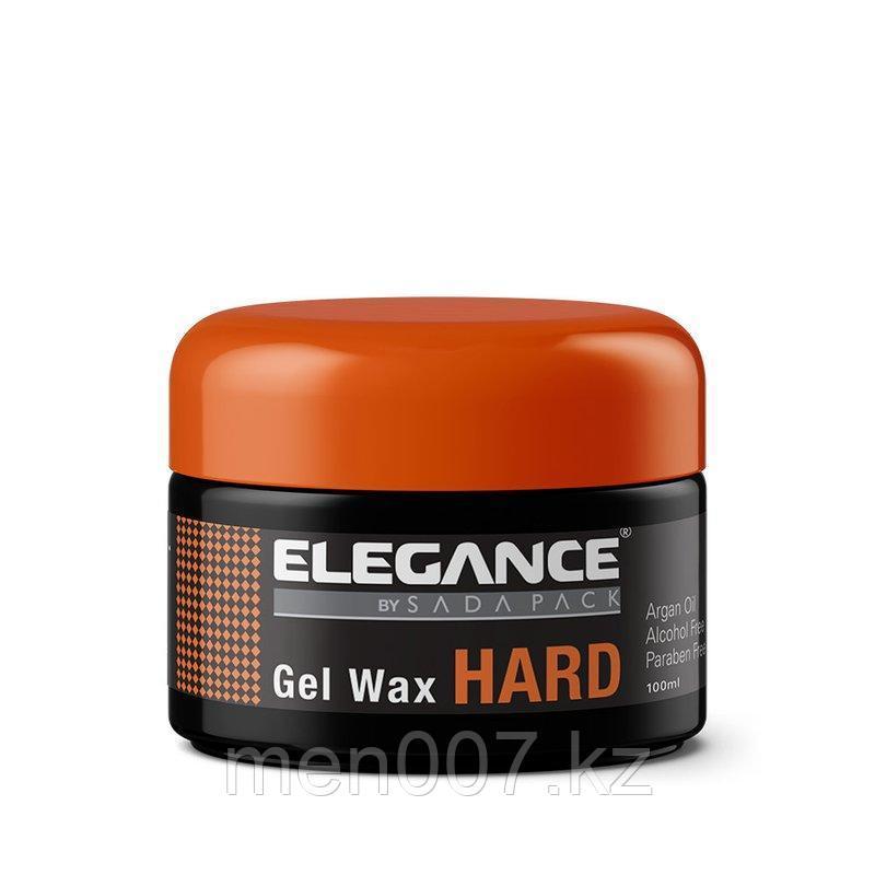 Сильный гель-воск для волос Hard Hair Gel Wax elegance