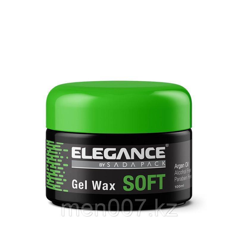 Мягкий гель-воск для волос Soft Hair Gel Wax elegance