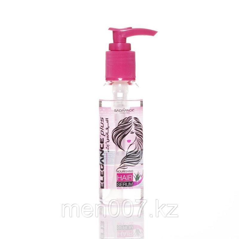 Прозрачная сыворотка для волос «Алое Вера» Elegance Plus Miracle Hair Serum Aloe Vera CLEAR 120 мл.