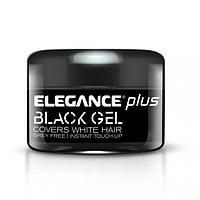 Гель для волос с эффектом зачернения Elegance Black Gel 100 мл