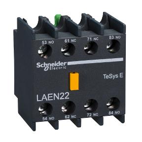 LAEN22 Блок вспомогательных контактов TeSys - 2 НО + 2 НЗ - винтовые зажимы