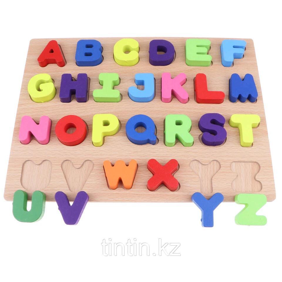 Рамка-вкладыш - Английский Алфавит, 30х23х2см.