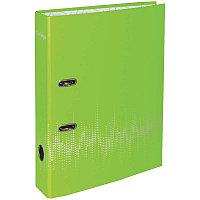 """Папка-регистр Berlingo """"Neon"""" 70мм неоновая зеленая, ламинированная 70802"""