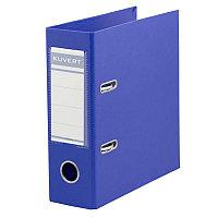 Папка-регистр А5 Kuvert ПВХ 72мм синяя