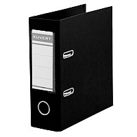 Папка-регистр А5 Kuvert ПВХ 72мм черная