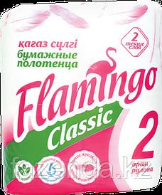 Flamingo бумажные полотенца 2 рулона