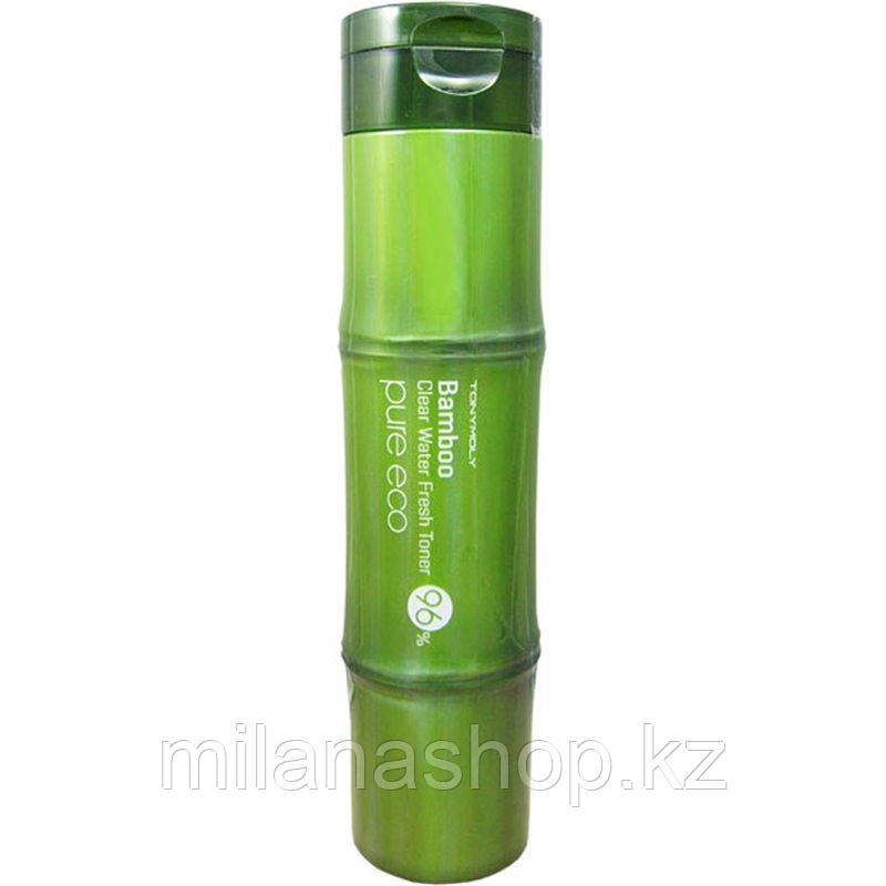 Tony Moly Pure Eco Bamboo Cool Water Soothing Gel - Многофункциональный гель с бамбуком