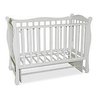 Детская кроватка Антел Северянка 2/3 белый