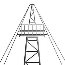 Прожекторные мачты и отдельно стоящие молниеотводы Серия 3.407.9-172