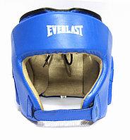 Шлем боксерский Everlast кожа, фото 1