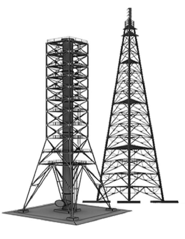 Прожекторная мачта ПМС-24 Серия 3.407.9-172