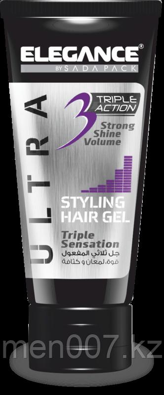 Гель тройного действия Elegance Triple Action Gel Purple 150 мл.