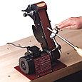 Набор для заточки полукруглых токарных резцов, Pro Edge Fingernail Profile Kit, фото 2