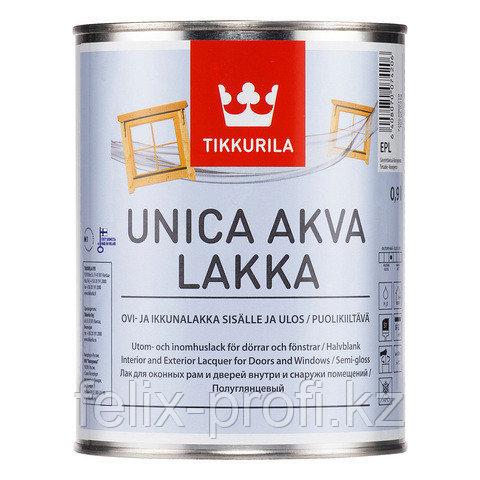 UNICA AKVA LACGUER EPL лак 9 л.