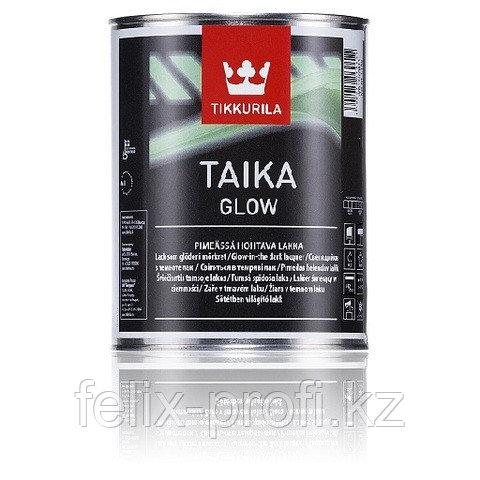 TAIKA GLOW лак светящийся в темноте мат. 0,33 л.