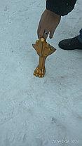 Ножки Даллас под ванну. Львиные лапы. (золото / хром), фото 2