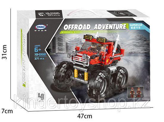 """Конструктор Xingbao XB-03025 Внедорожные приключения """"Джип-монстр"""" 371 деталь аналог LEGO"""