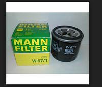 Масленый фильтр MANN W67\1
